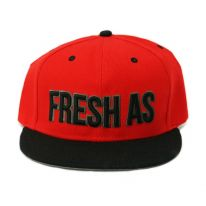 RED FRESH AS FUCK SNAPBACK