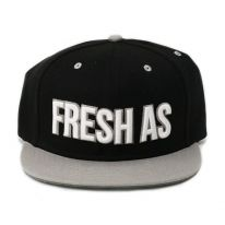 BLACK FRESH AS FUCK SNAPBACK