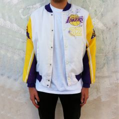 VINTAGE MAGIC JOHNSON CHALK LINE JACKET