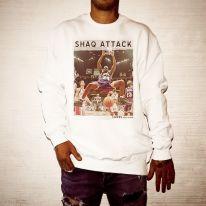 SHAQ ATTACK WHITE CREW