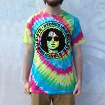 STONED IMMACULATE TIE DYE TEE