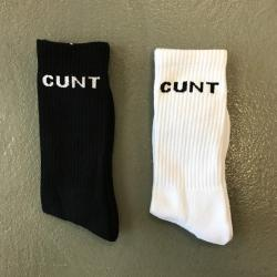2 PACK OF CUNT SOCKS