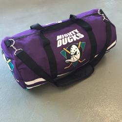 PURPLE DUCKS DUFFLE BAG